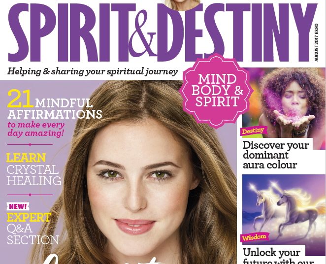 'Psychic school', numerology, angels and cosmic ordering all feature in new-look Spirit and Destiny magazine