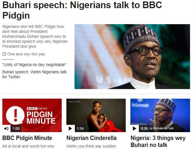 BBC World Service offers news in Pidgin as part of £289m expansion to include 12 new languages