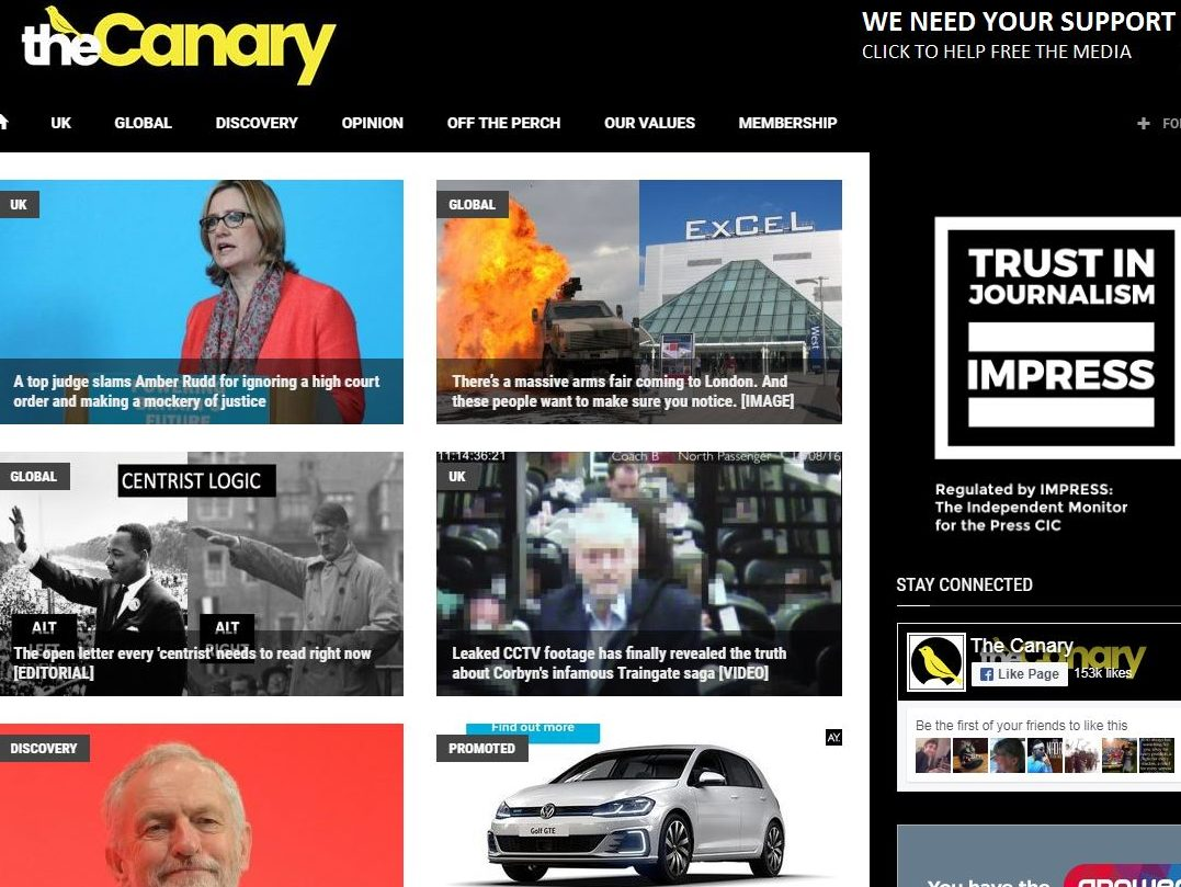 The Canary joins Impress to become alternative press regulator's 66th member