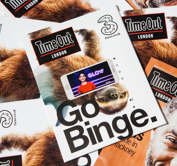 Time Out London takes print edition digital by putting integrated video screens on the front page