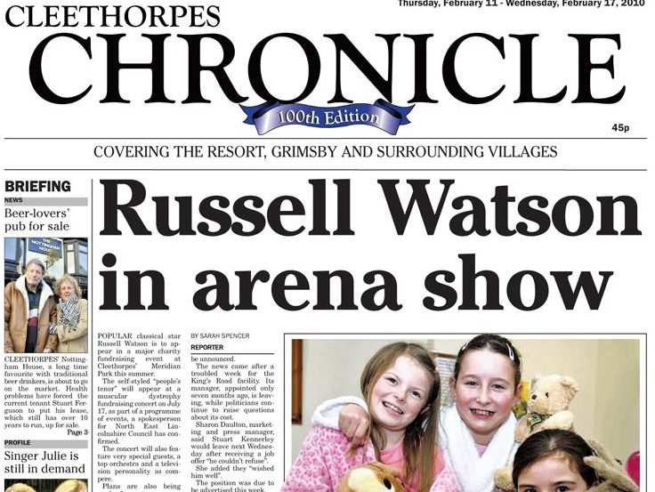 Cleethorpes Chronicle closes after nine years amid 'tough trading conditions'