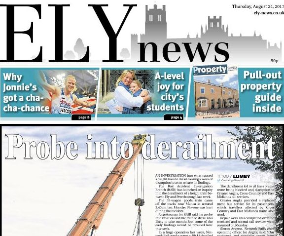 Trinity Mirror to close three weeklies in Cambridgeshire putting jobs at risk