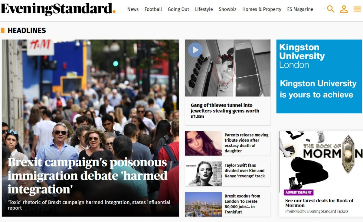 Regional ABCs online: London Evening Standard overtakes MEN to become most-visited regional news website