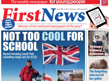 Newspaper for young people tops UK children's magazine circulation for first time beating likes of Lego and Disney