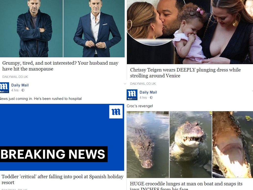Mail Online is most popular English-language publisher on Facebook with 26m 'interactions' in July, according to study