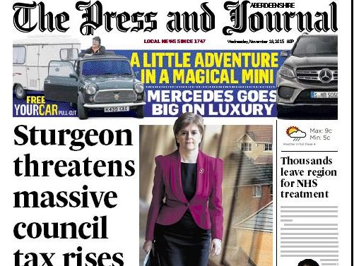 Aberdeen Press and Journal editor Damian Bates steps down after 15 years with Scottish publisher