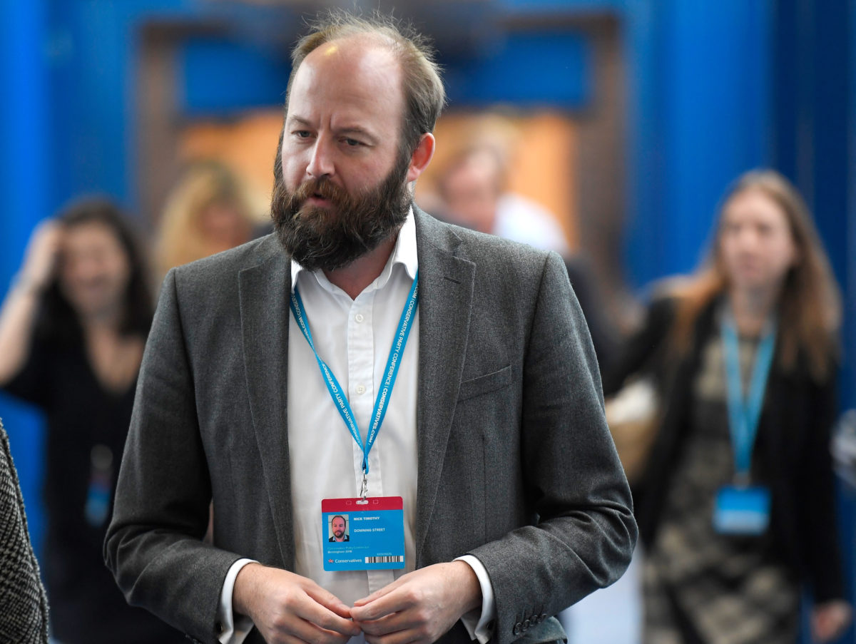 PM's former advisor Nick Timothy set to write regular columns for Telegraph and Sun