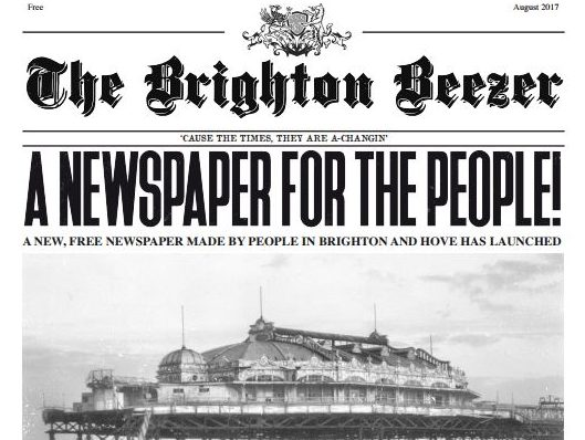 Brighton paper launched by journalist to 'atone' for setting up Mail Online reader comments section