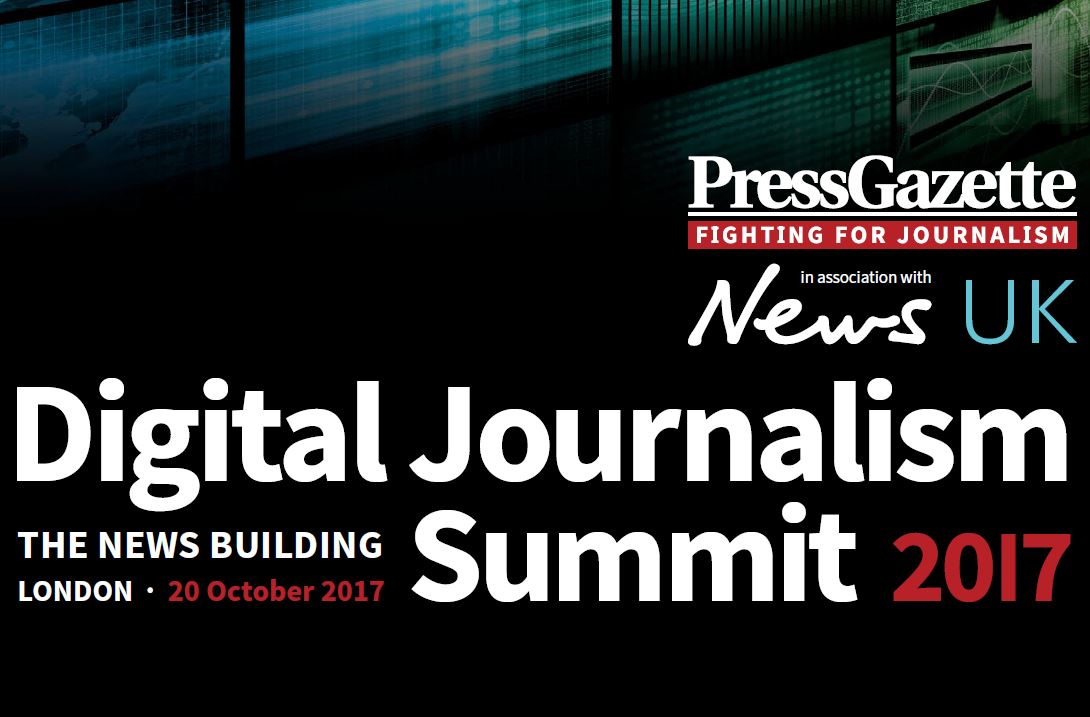 Digital Journalism Summit 2017: 20 October, at News UK: How to make news pay its way in the online era