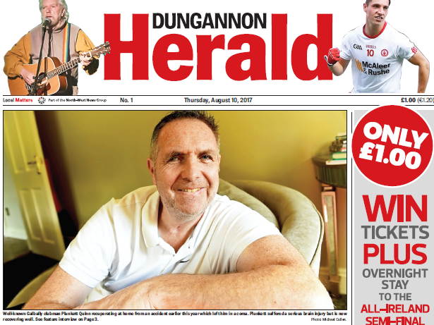 New weekly newspaper for Dungannon launches to plug local news gap in Northern Ireland