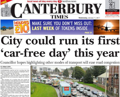 Trinity Mirror closing Canterbury Times weekly newspaper in Kent