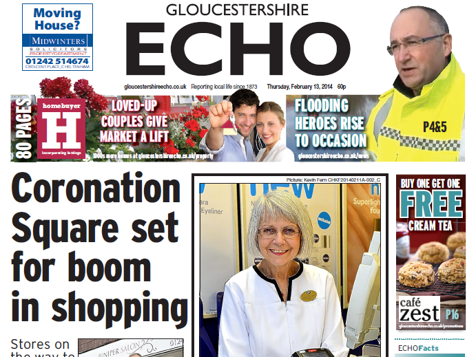 Gloucestershire's two daily newspapers to go weekly with loss of five jobs as Trinity Mirror targets online readers