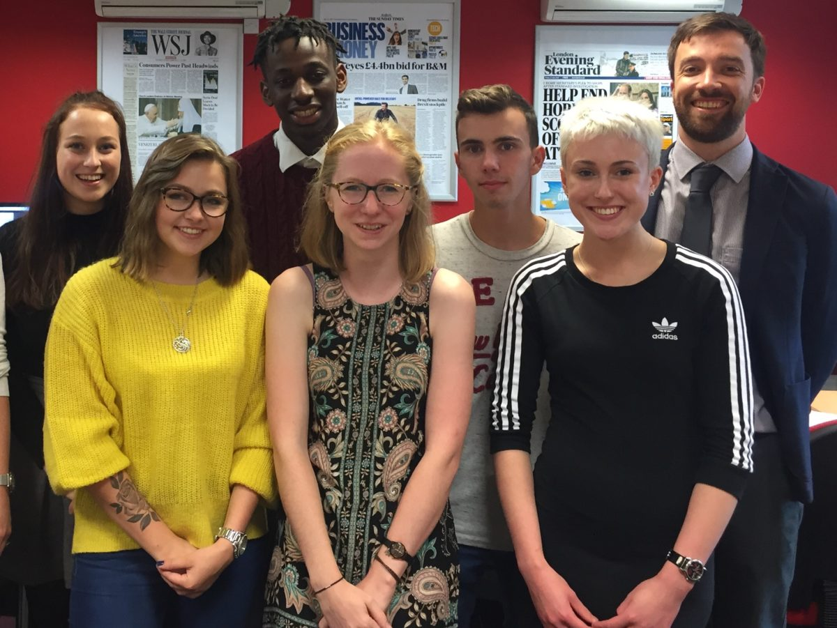 Sunday Times takes on first ever journalism apprentice