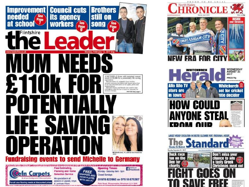Newsquest continues expansion with buyout of Mold-based NWN Media and its 13 newspaper titles