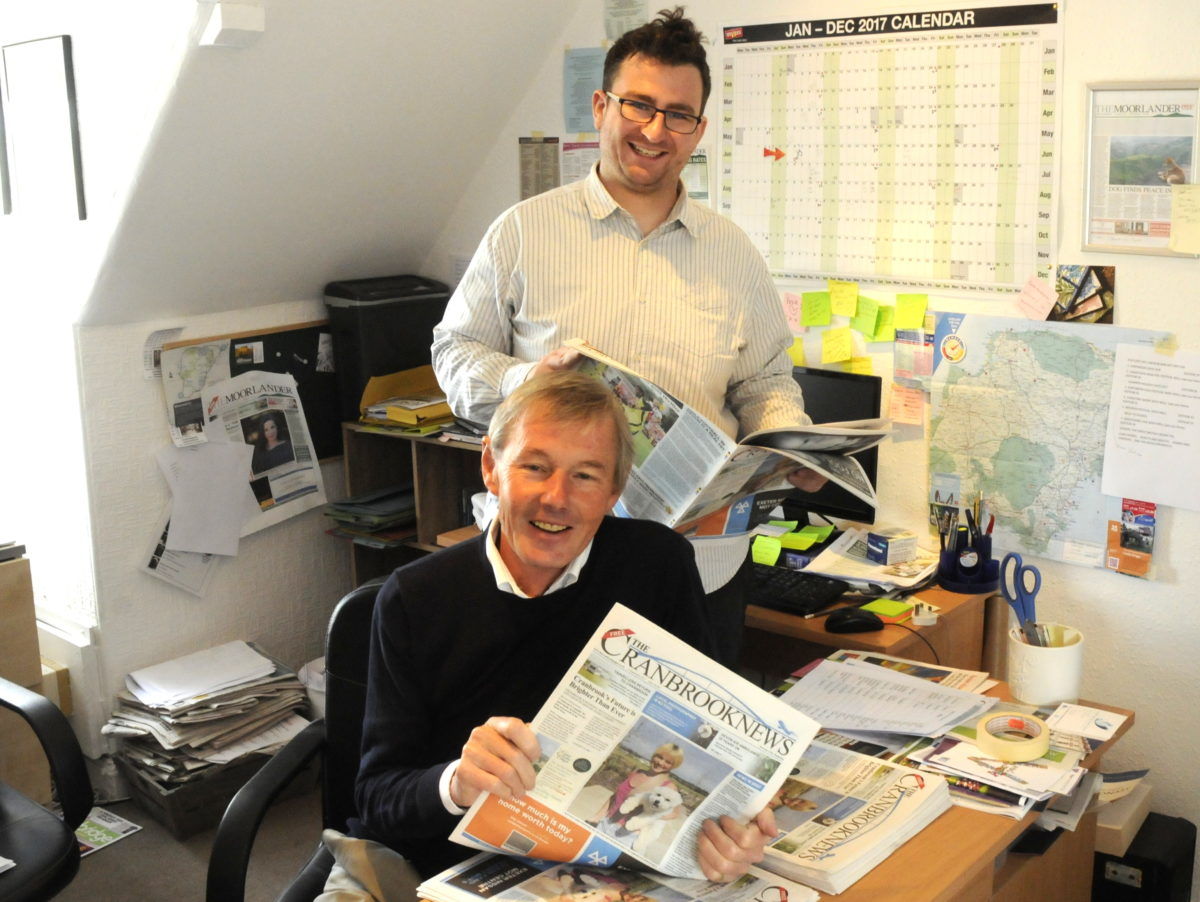 Independent publisher launches second newspaper - fortnightly title for new town in Devon