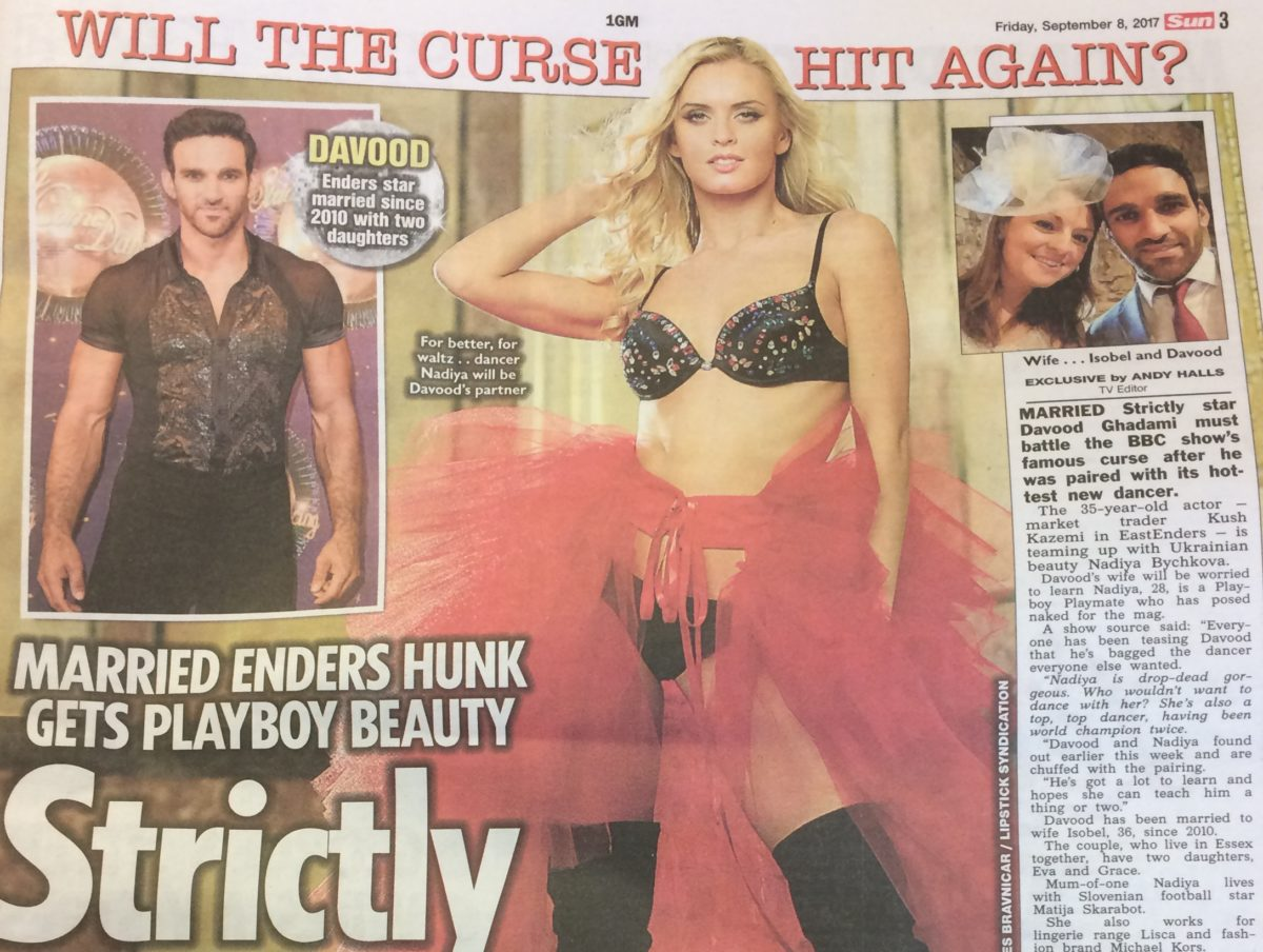Sun 'breaks embargo' on Strictly pairings ahead of BBC show launch but says it is 'product of good journalism'