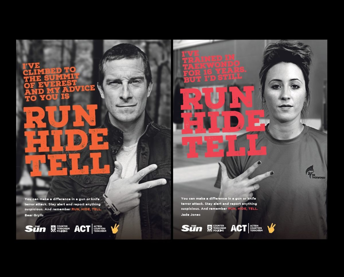 The Sun teams up with police to deliver 'run, hide, tell' terror attack advice to teens