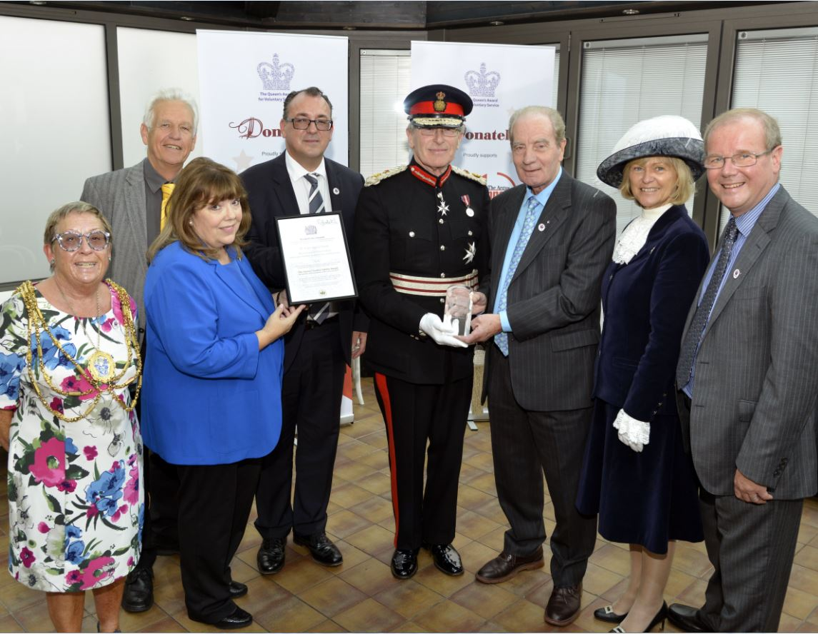 Brighton's Argus Appeal charity honoured with Queen's Award for 60 years of fundraising