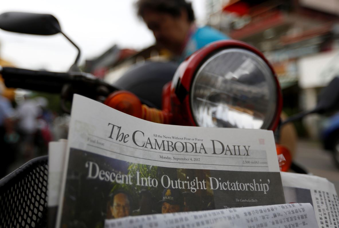 Cambodia Daily: Beacon of independent journalism shut down by government