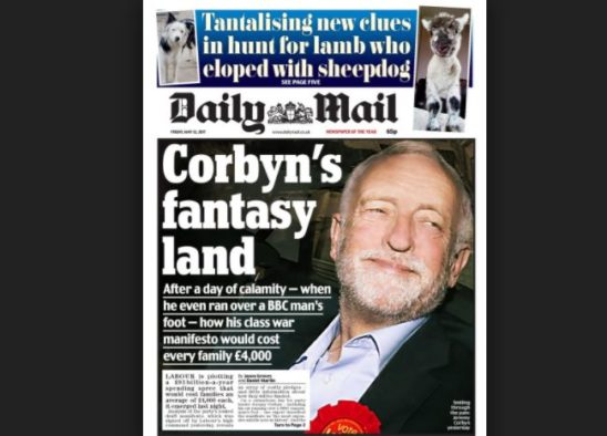 Four months on Daily Mail clarifies front-page headline claiming Labour election win would cost every family £4,000 a year