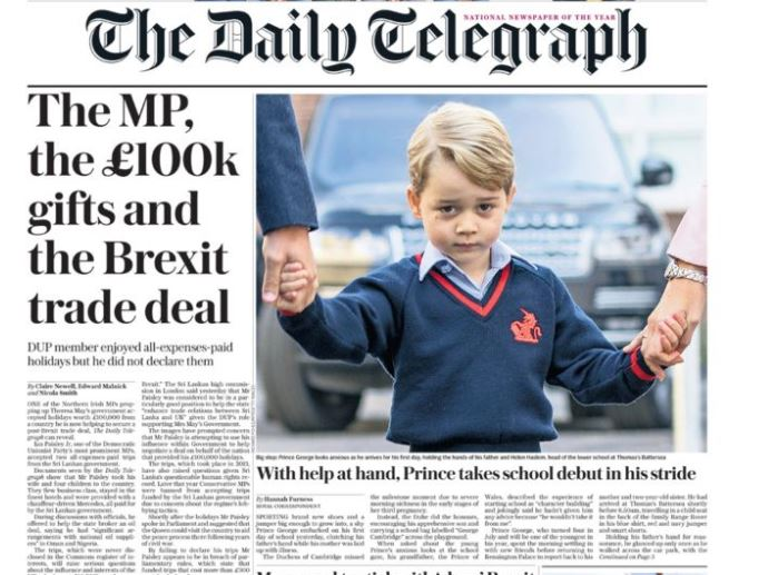 National newspaper ABCs: Bulks helped Times and Daily Telegraph boost print circulations in September