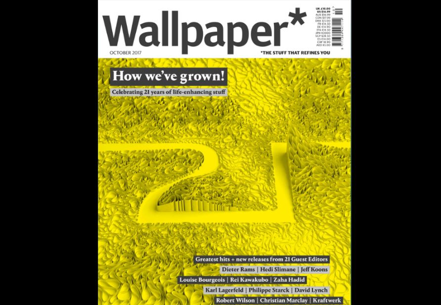 Wallpaper 21st birthday edition carries 209 pages of ads and weighs in at 1.5kg