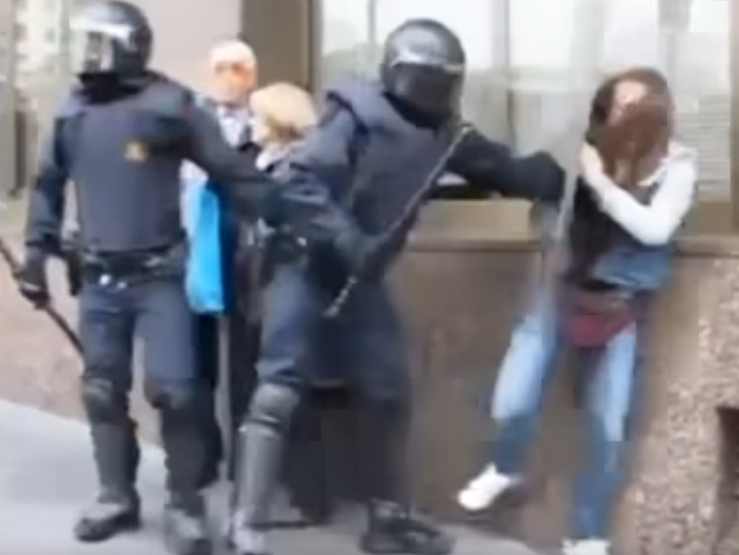 Novara Media pulls video wrongly using clip from 2012 strike in report on Catalonia independence vote violence