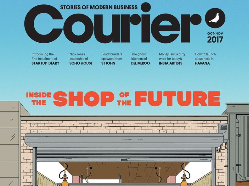 Free London business magazine Courier goes global with new premium paid-for format