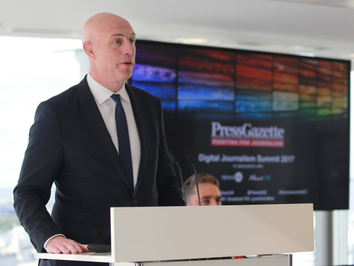 Digital Summit: News UK chief says press must fix 'broken relationship' with online platforms or face end of independent news