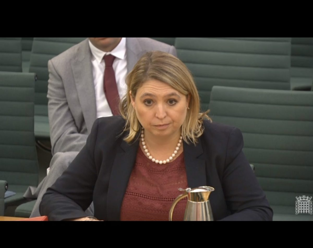 Culture Secretary Karen Bradley: Defining Google and Facebook as publishers could impact civil liberties
