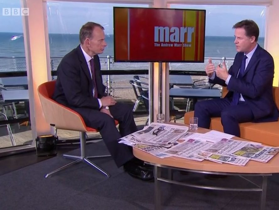 BBC hits back at Sun's claim of anti-Brexit bias on Andrew Marr and Sunday Politics shows