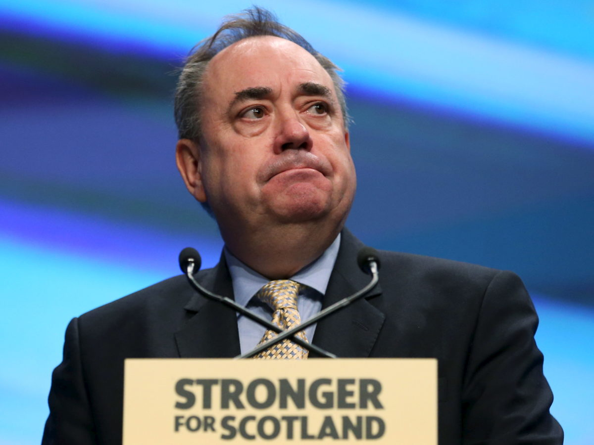 Former SNP leader Alex Salmond signs deal with Kremlin-backed broadcaster Russia Today to produce TV show