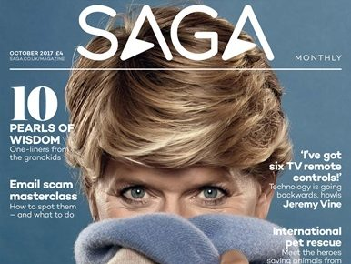 Saga Magazine says it 'does not offer copy control' after row over Clare Balding cover feature