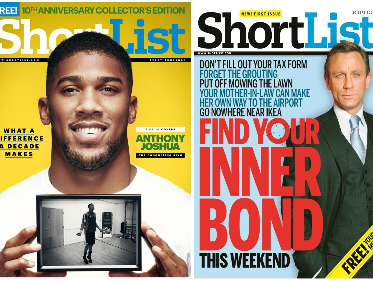 Shortlist turns ten: Phil Hilton on how his free weekly survived the meltdown of the lads' mags