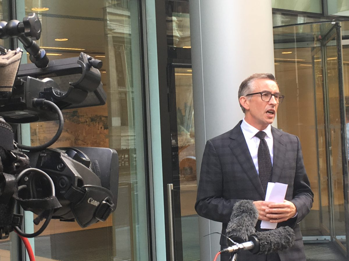 Steve Coogan names former Mirror execs who have 'not yet been subject to proper scrutiny' over phone-hacking