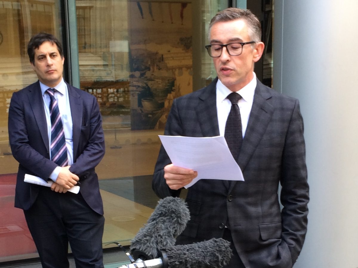 Trinity Mirror agrees six-figure phone hacking payout to actor Steve Coogan