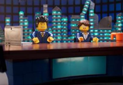Good Morning Britain's Kate Garraway and Ben Shephard rendered in Lego for roles in Ninjago Movie