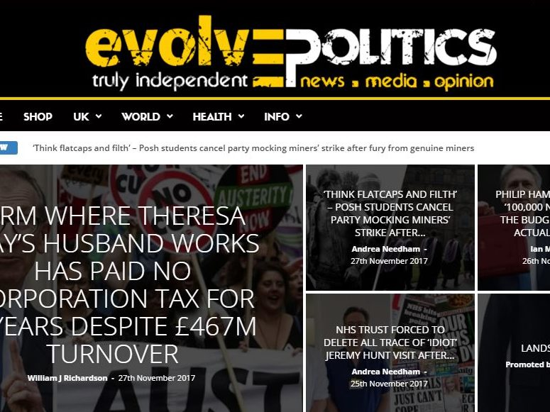 Left-wing news site Evolve Politics joins press regulator Impress in response to  'unsubstantiated shrieks of fake news'