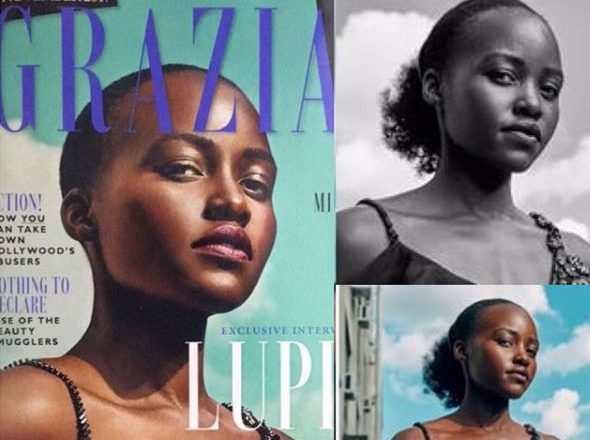 Photographer who amended Grazia UK cover shot of Lupita Nyong'o 'deeply sorry' for 'monumental mistake'