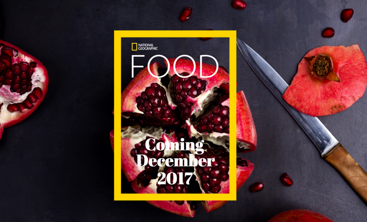 National Geographic launching new monthly magazine dedicated to Food