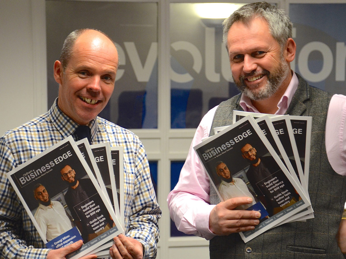 New Oldham Evening Chronicle owner relaunches title's free business magazine