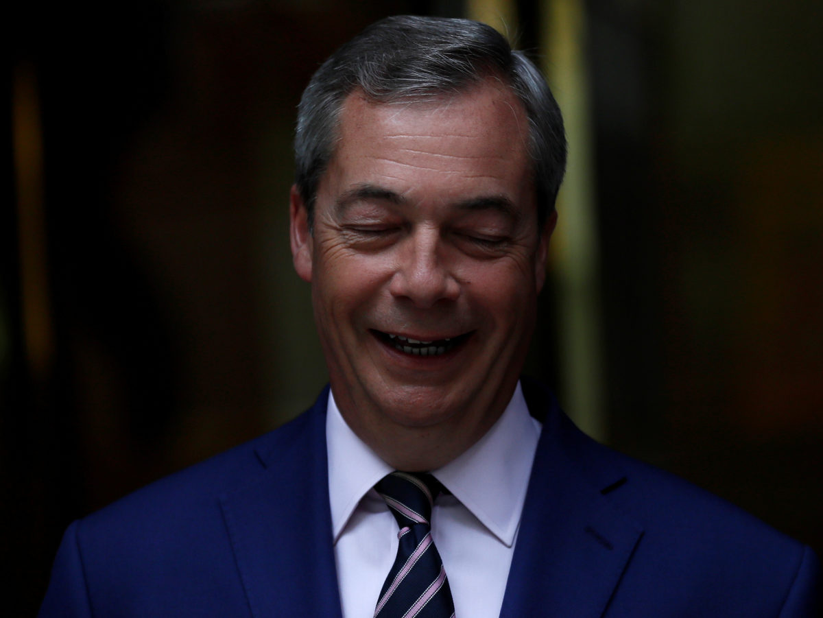 Nigel Farage settles libel action over comments on LBC but says Hope Not Hate is wrong to claim a 'victory'