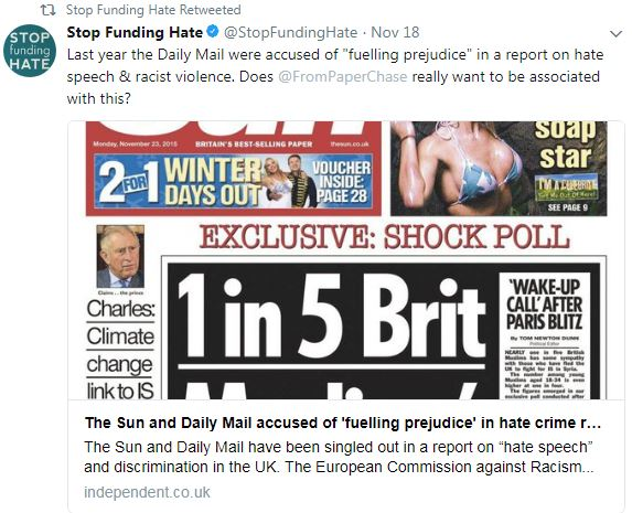 Campaign group aiming to cut funding for Daily Mail and Sun doubles crowdfunding target within a month