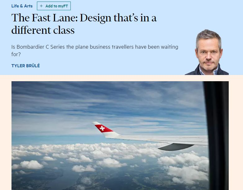 Financial Times defends Tyler Brûlé after column contains praise for three former clients of his creative agency