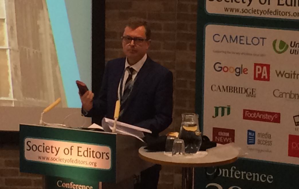 Telegraph editor Chris Evans: Facebook and Google have taken journalism advertising money - but technology is an opportunity