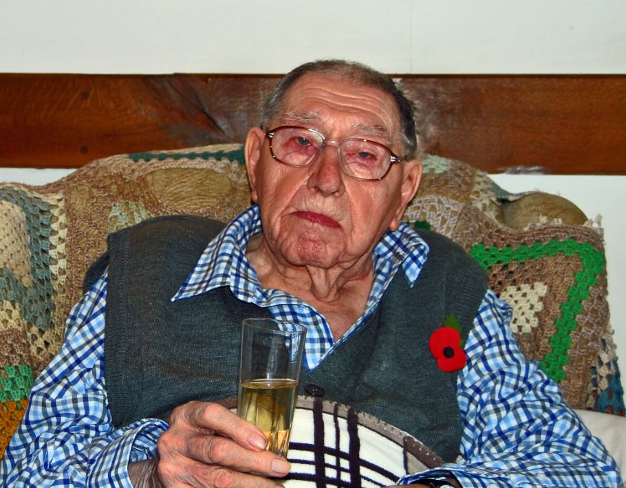 Former Press Association High Court correspondent Lionel Barlow turns 100 at home in Kent