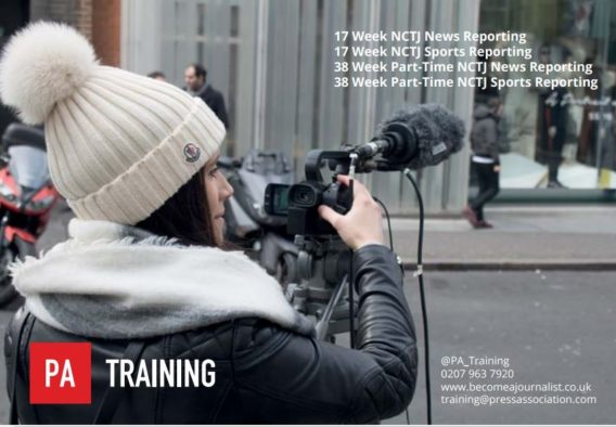 Press Association: NCTJ-recognised journalism training which opens doors in the news industry