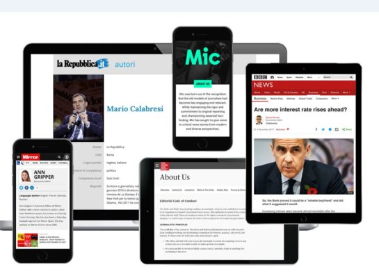 Trinity Mirror and Economist adopt Google-backed online 'Trust Indicators' to help identify quality journalism
