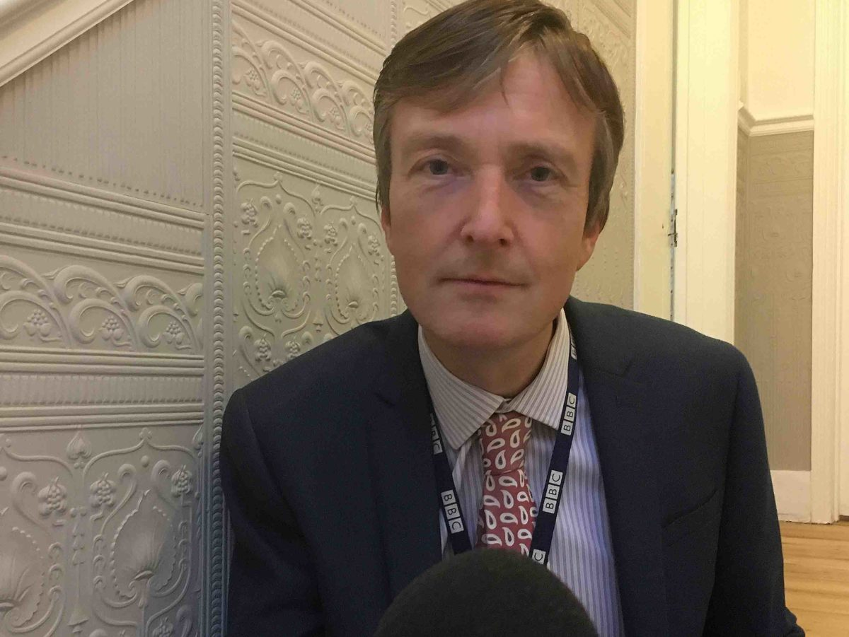 Diabetic BBC newsreader explains how low sugar levels left him talking 'gibberish' live on radio