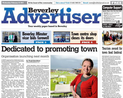 Trinity Mirror closes free weekly the Beverley Advertiser because title 'no longer commercially viable'